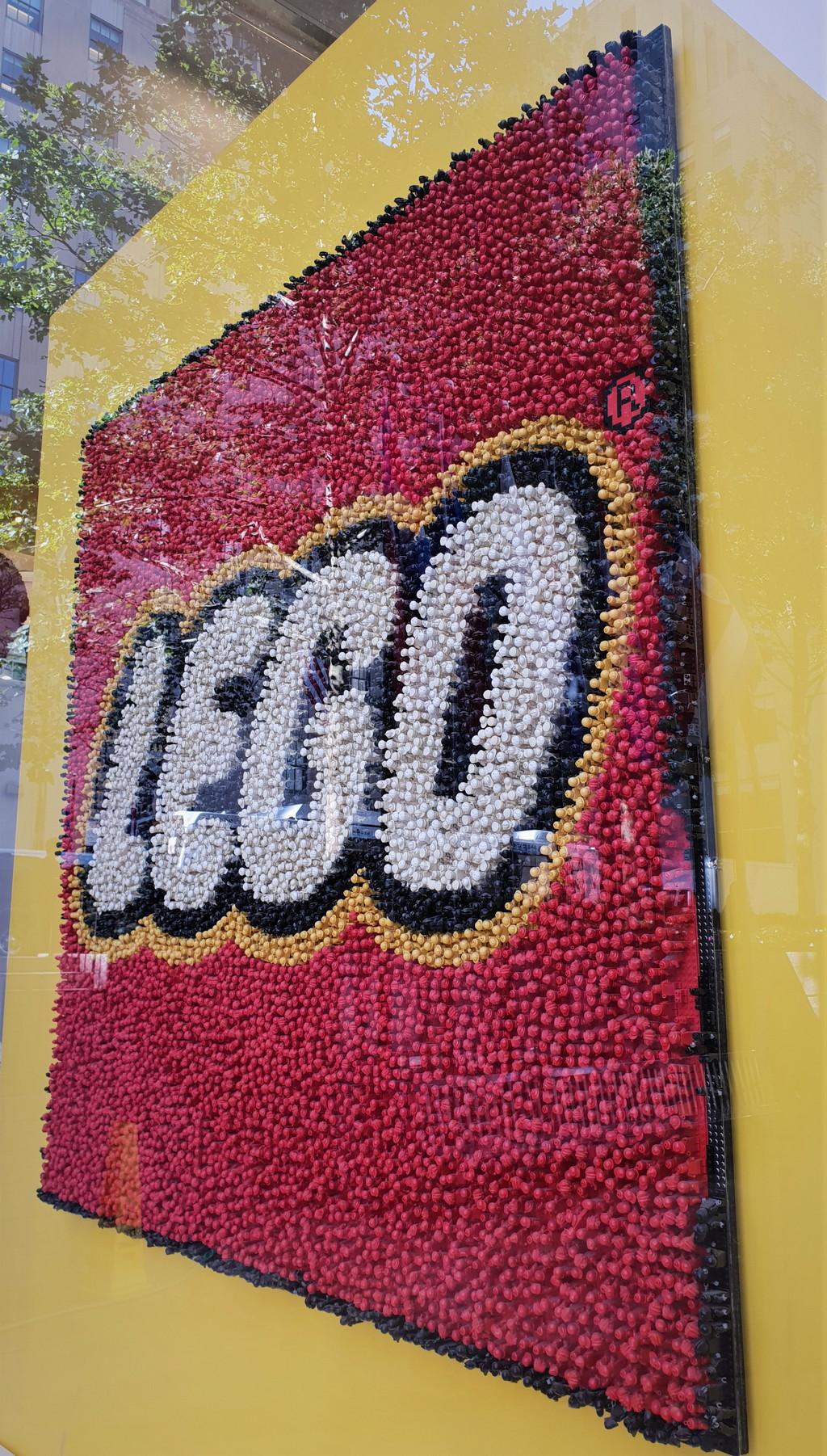 Lego mosaique